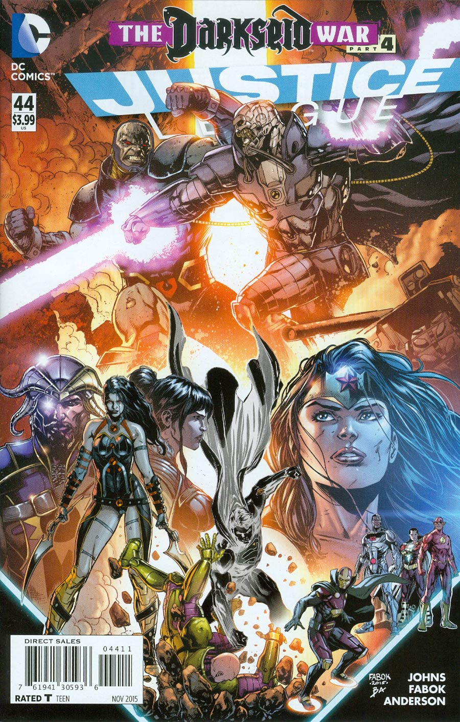 Justice League Vol 2 #44 Cover A Regular Jason Fabok Cover