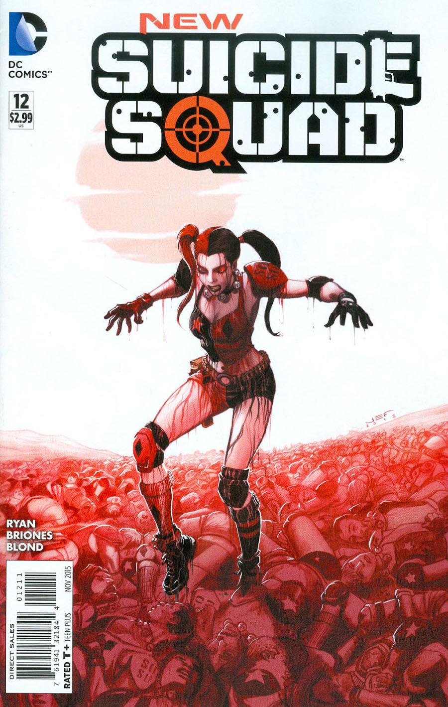 New Suicide Squad #12 Cover A Regular Juan Ferrerya Cover