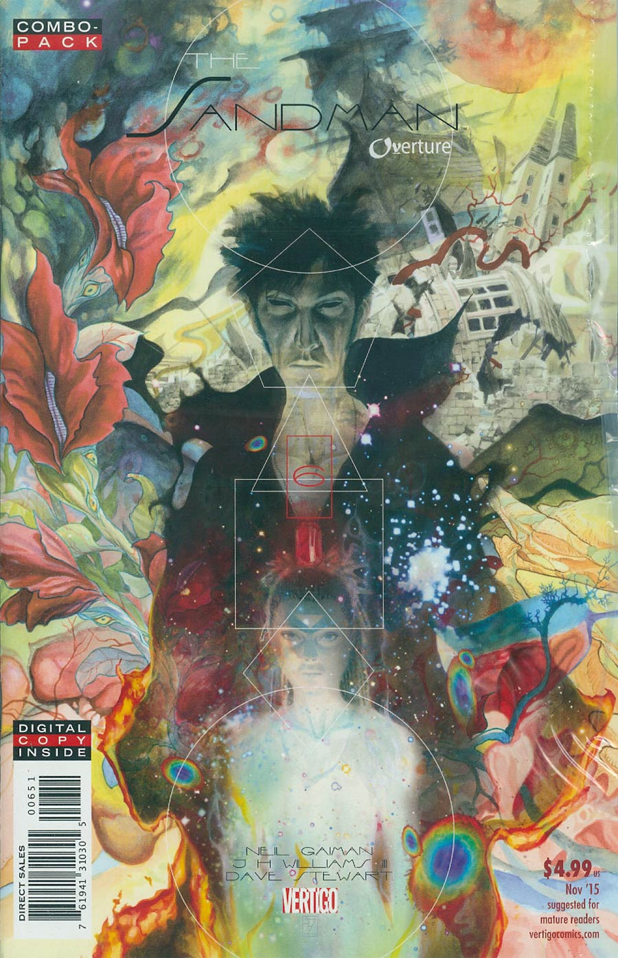 Sandman Overture #6 Cover C Combo Pack With Polybag