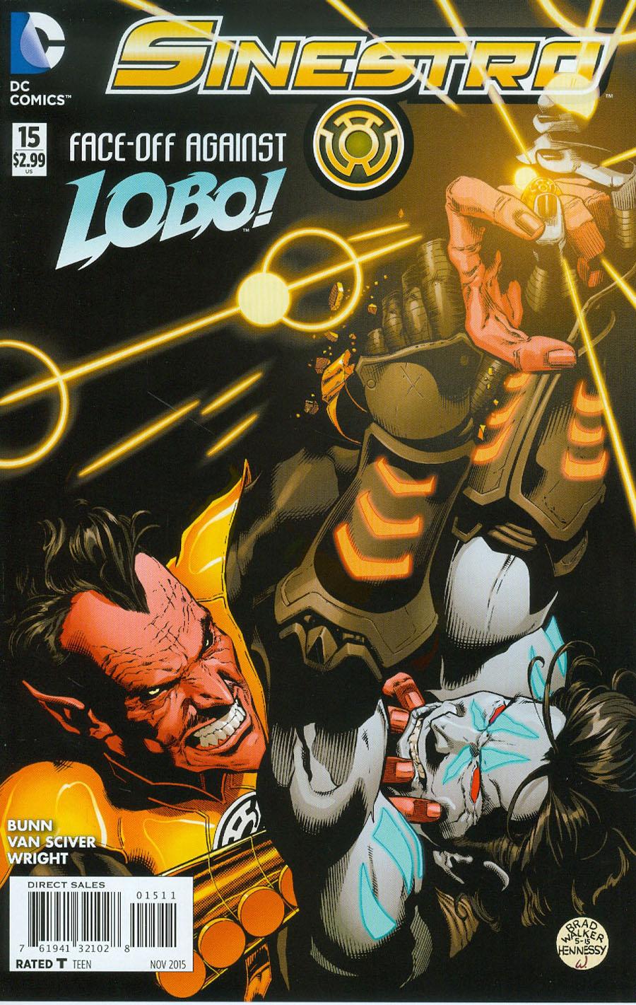Sinestro #15 Cover A Regular Brad Walker Cover