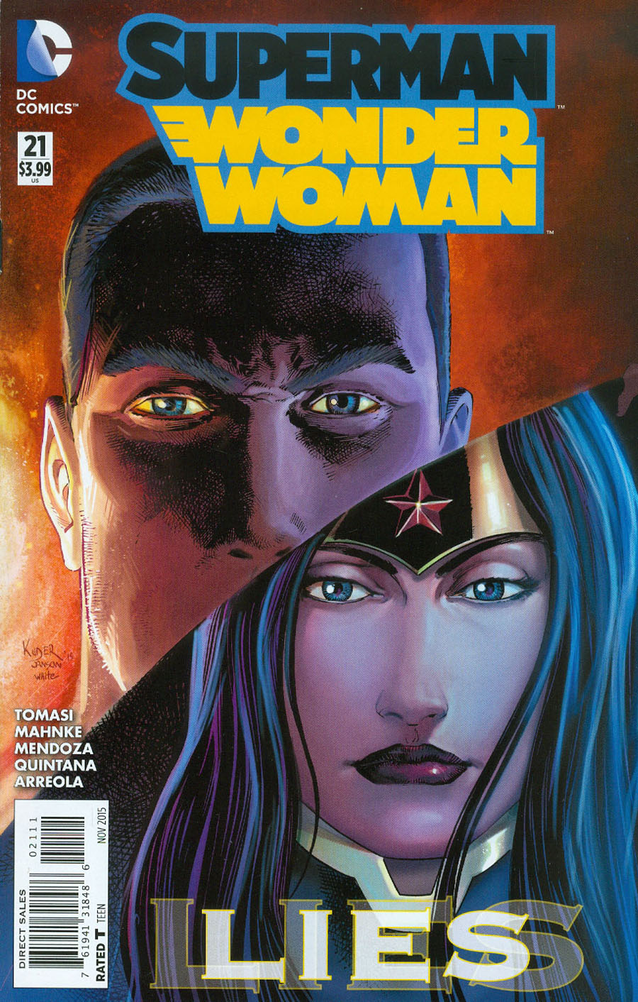 Superman Wonder Woman #21 Cover A Regular Aaron Kuder Cover (Truth Tie-In)