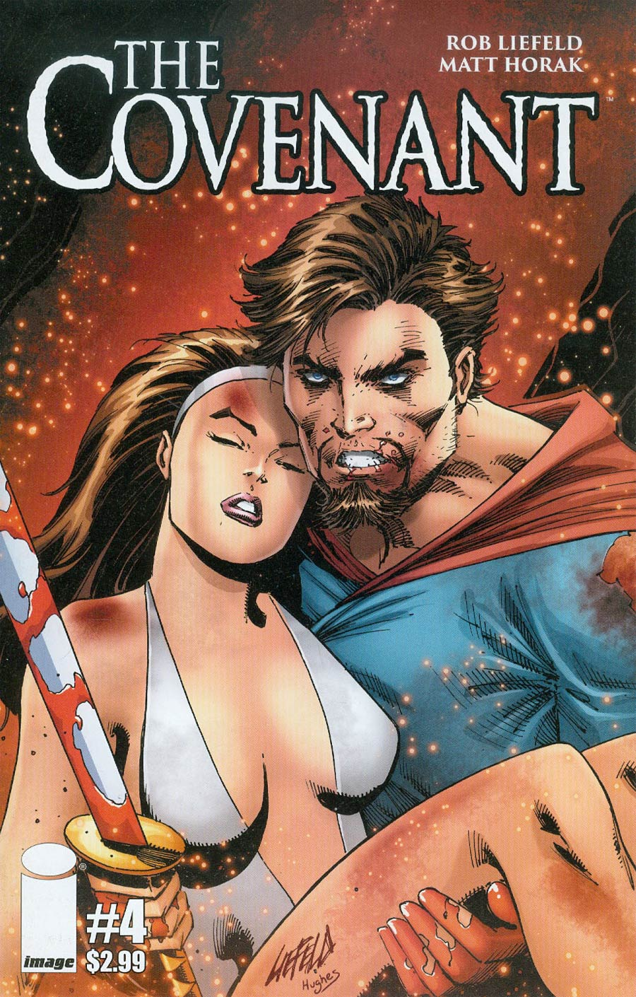 Covenant #4 Cover A Rob Liefeld