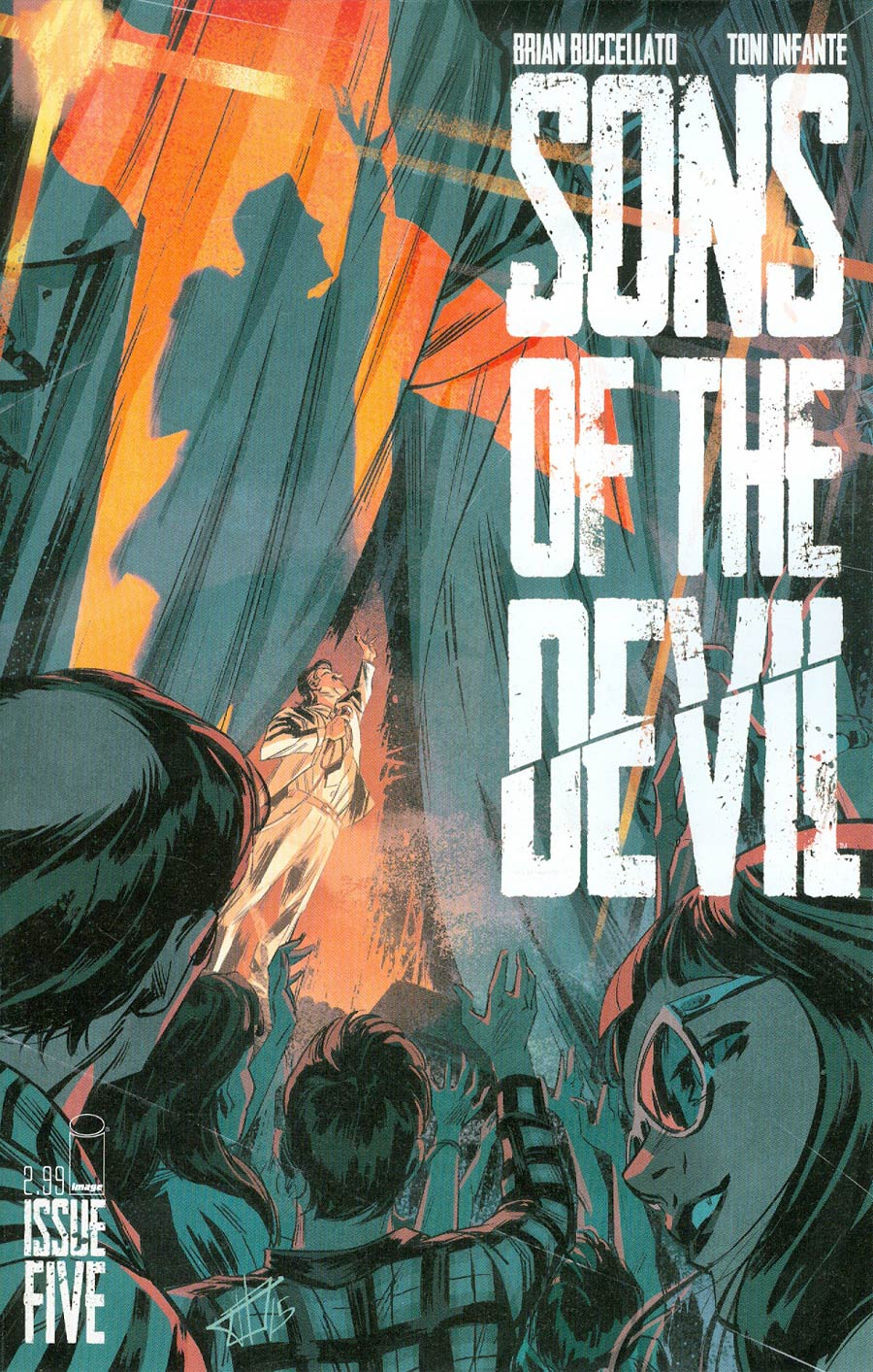 Sons Of The Devil #5 Cover A Toni Infante