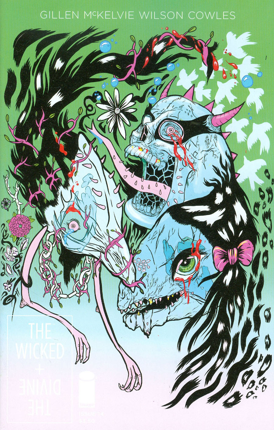 Wicked + The Divine #14 Cover B Grimes