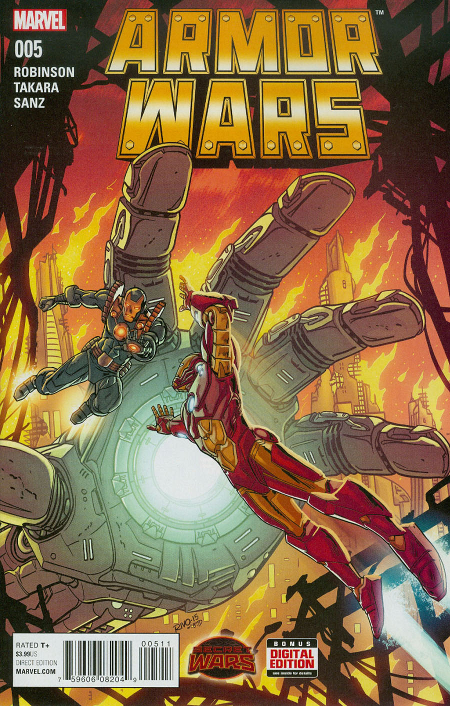 Armor Wars #5 (Secret Wars Warzones Tie-In)