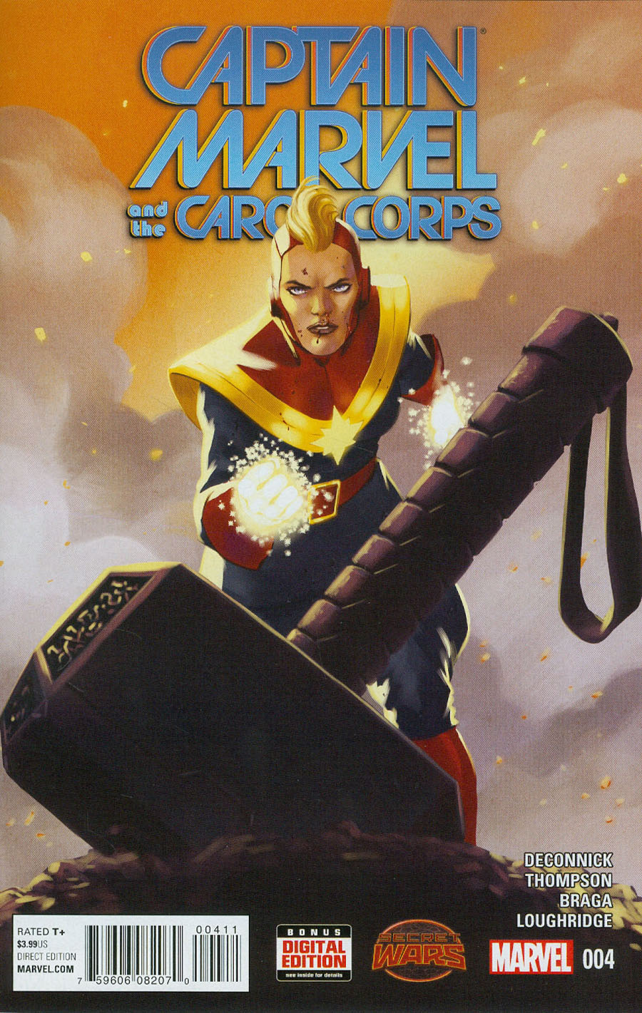 Captain Marvel And The Carol Corps #4 (Secret Wars Warzones Tie-In)