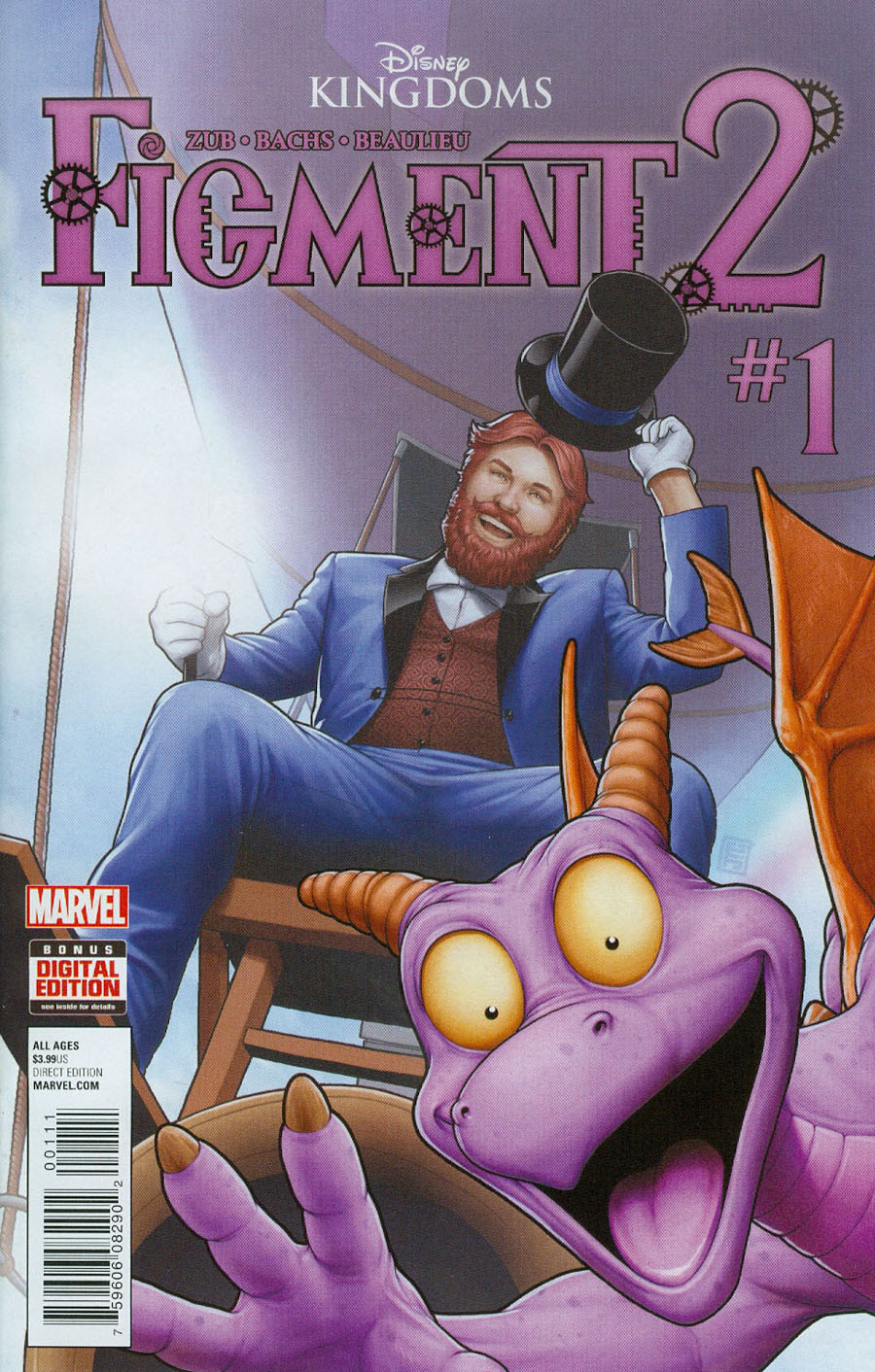 Disney Kingdoms Figment 2 #1 Cover A Regular John Tyler Christopher Cover