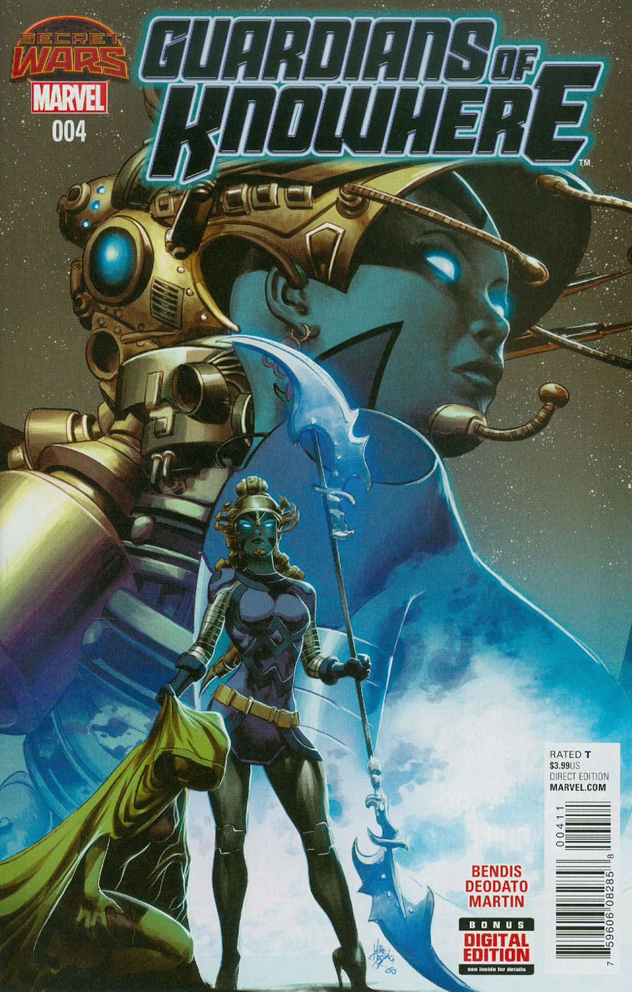 Guardians Of Knowhere #4 Cover A Regular Mike Deodato Jr Cover (Secret Wars Warzones Tie-In)