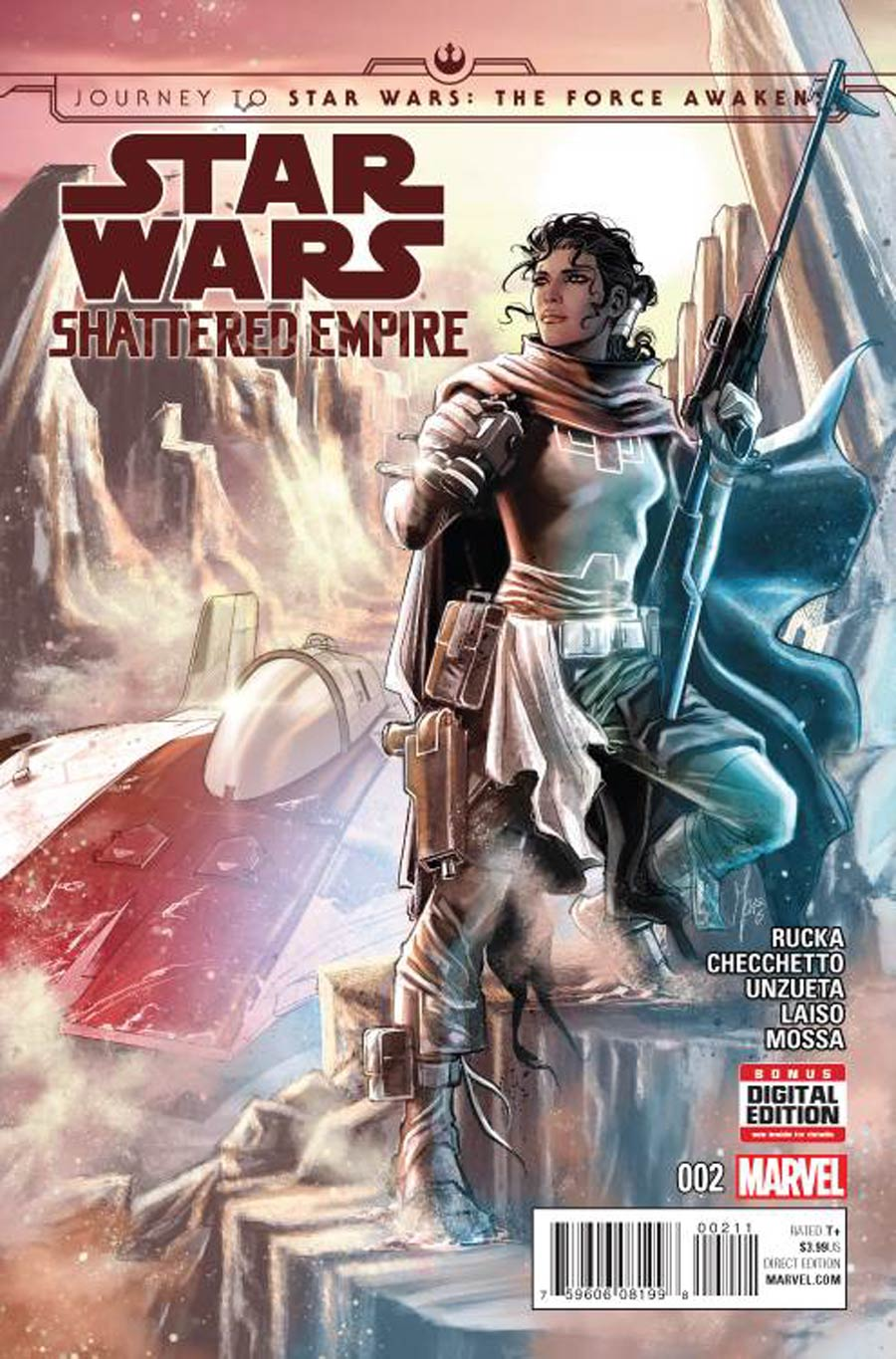 Journey To Star Wars Force Awakens Shattered Empire #2 Cover A Regular Marco Checchetto Cover