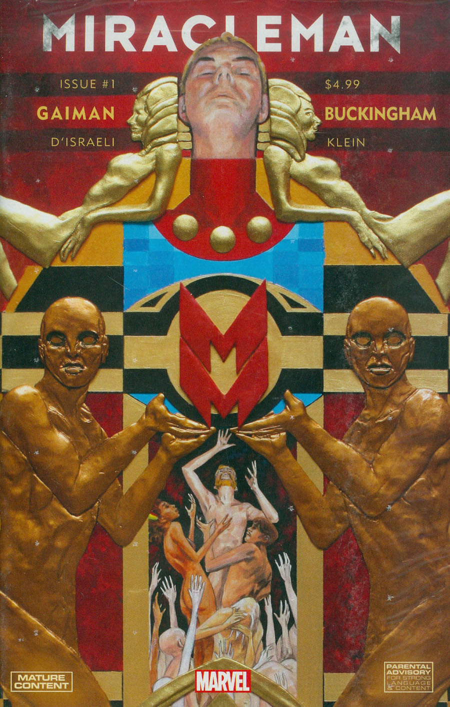 Miracleman By Gaiman & Buckingham #1 Cover A Regular Mark Buckingham Cover With Polybag
