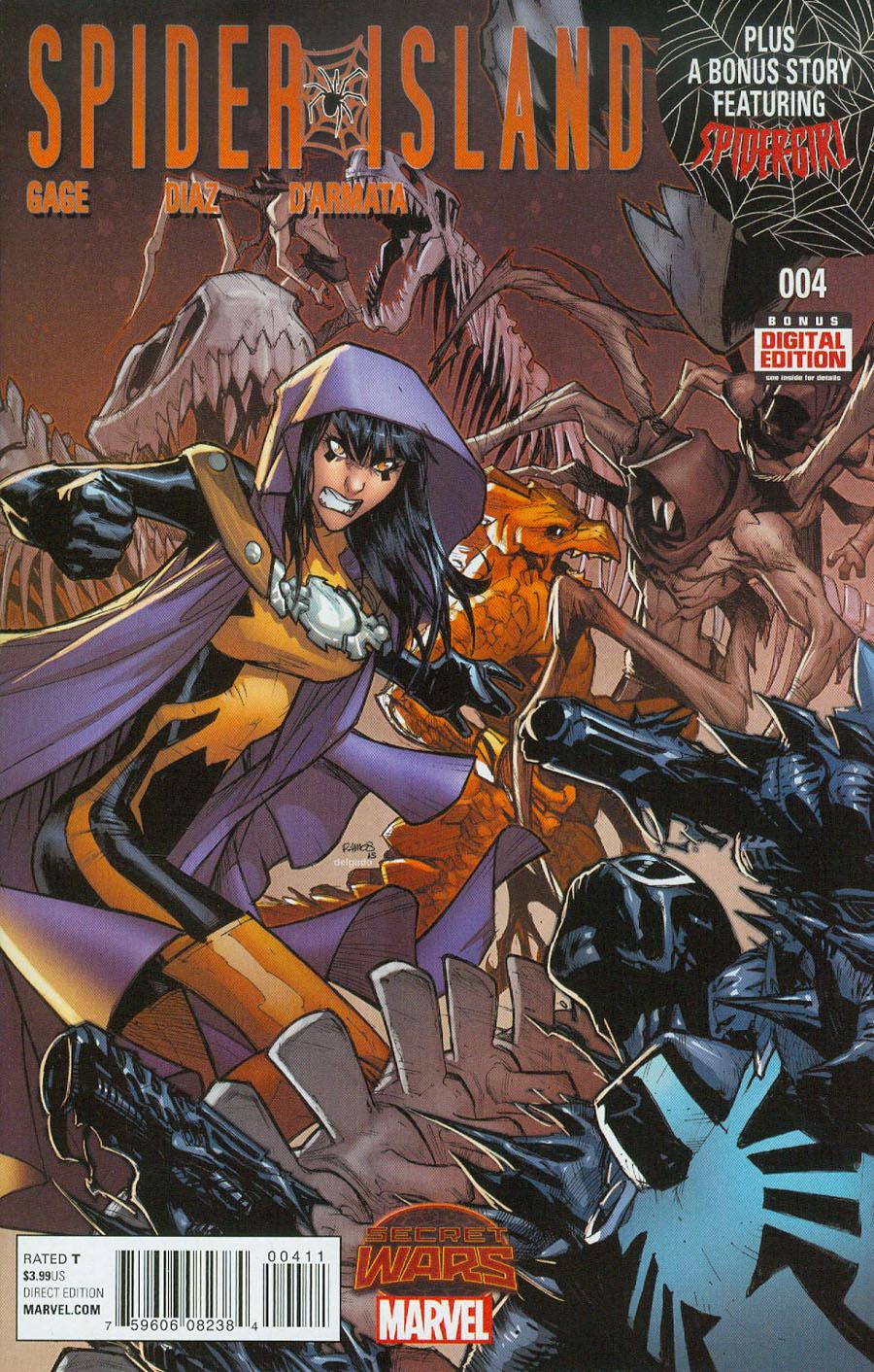 Spider-Island #4 (Secret Wars Warzones Tie-In)