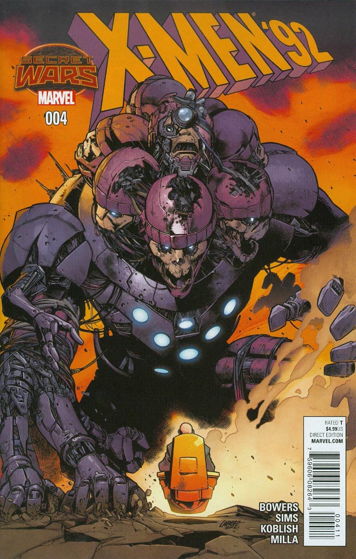 X-Men 92 #4 Cover A Regular Pepe Larraz Cover (Secret Wars Warzones Tie-In)