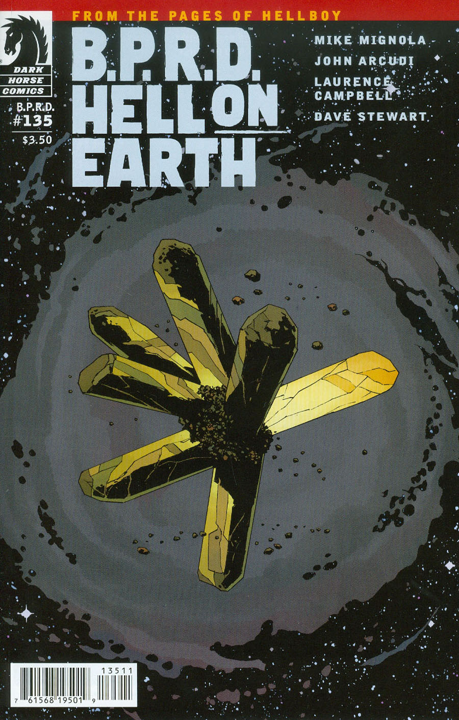 BPRD Hell On Earth #135 Cover A Regular Laurence Campbell Cover