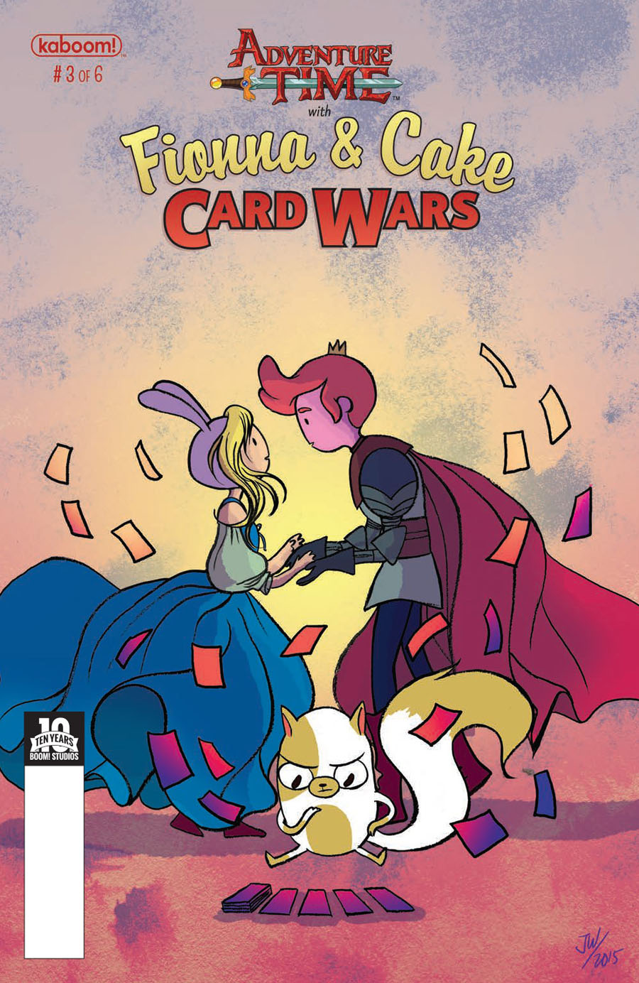 Adventure Time With Fionna & Cake Card Wars #3 Cover A Regular Jen Wang Cover