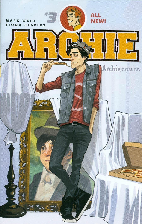 Archie Vol 2 #3 Cover A Regular Fiona Staples Cover