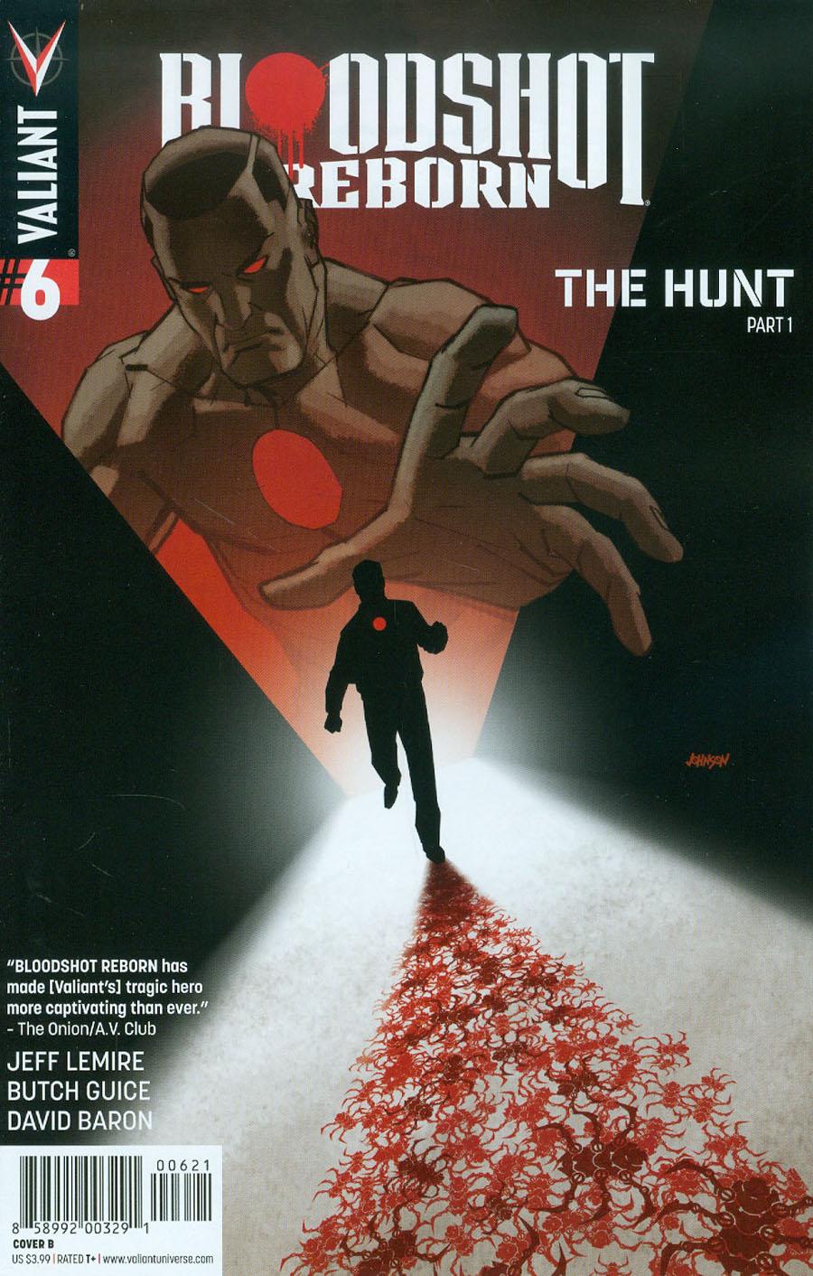 Bloodshot Reborn #6 Cover B Variant Dave Johnson Cover