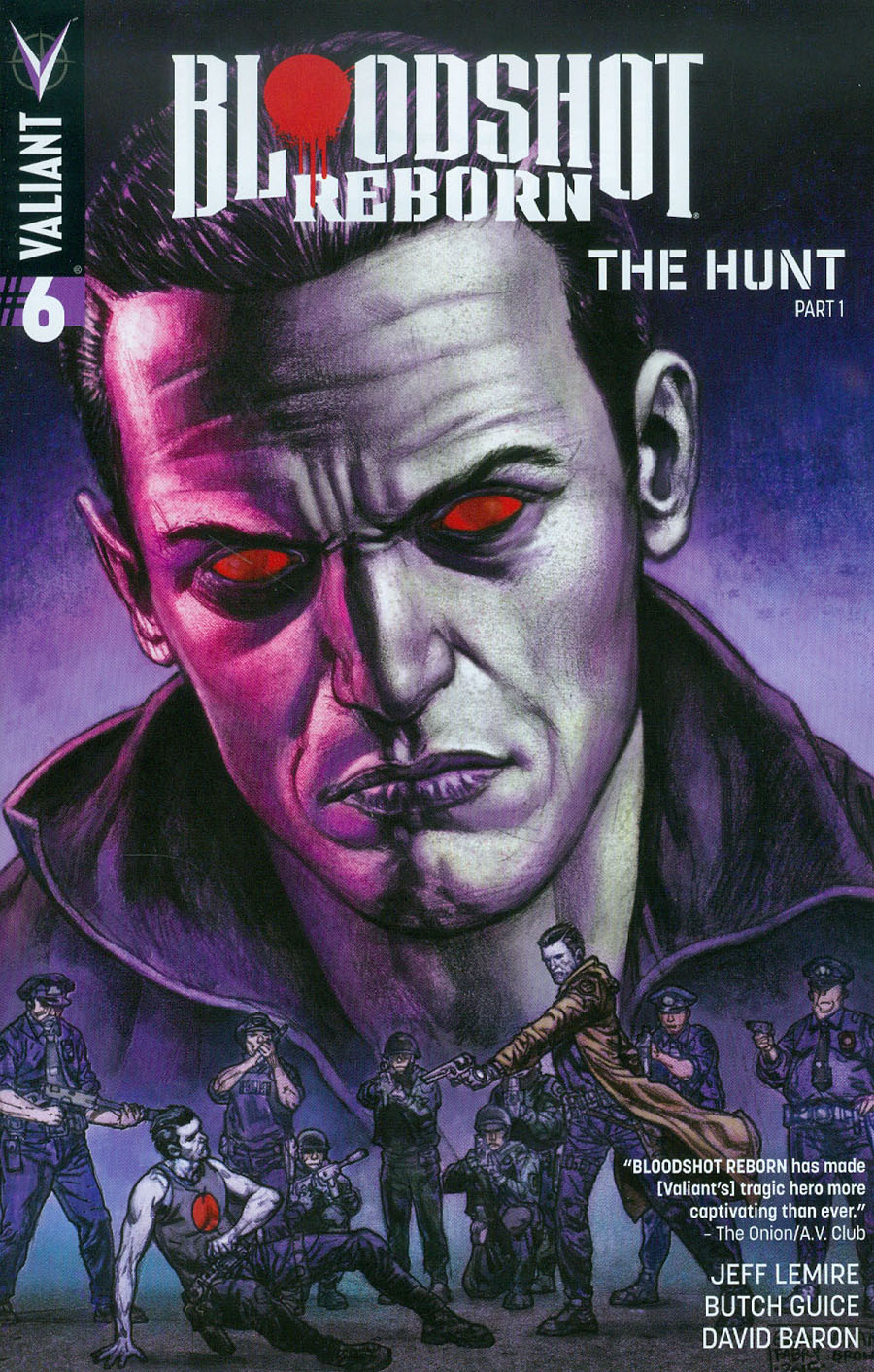 Bloodshot Reborn #6 Cover C Variant Glenn Fabry Cover