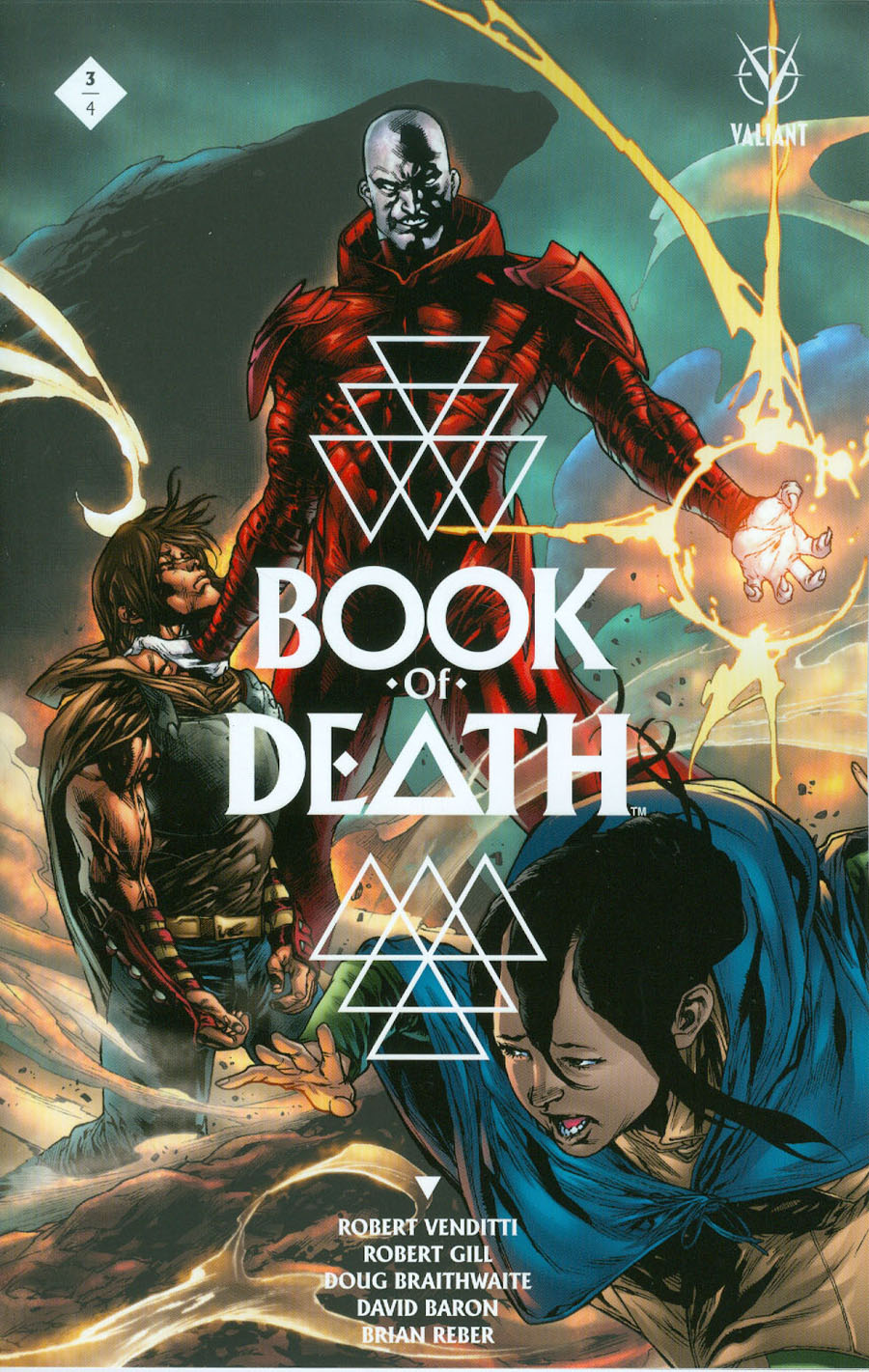 Book Of Death #3 Cover C Variant Stephen Segovia Cover