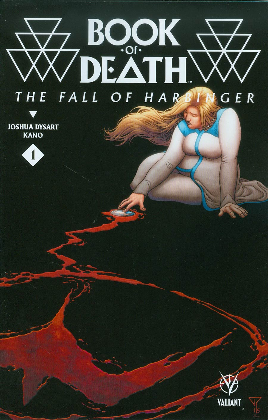 Book Of Death Fall Of Harbinger #1 Cover B Variant Francis Portela Cover