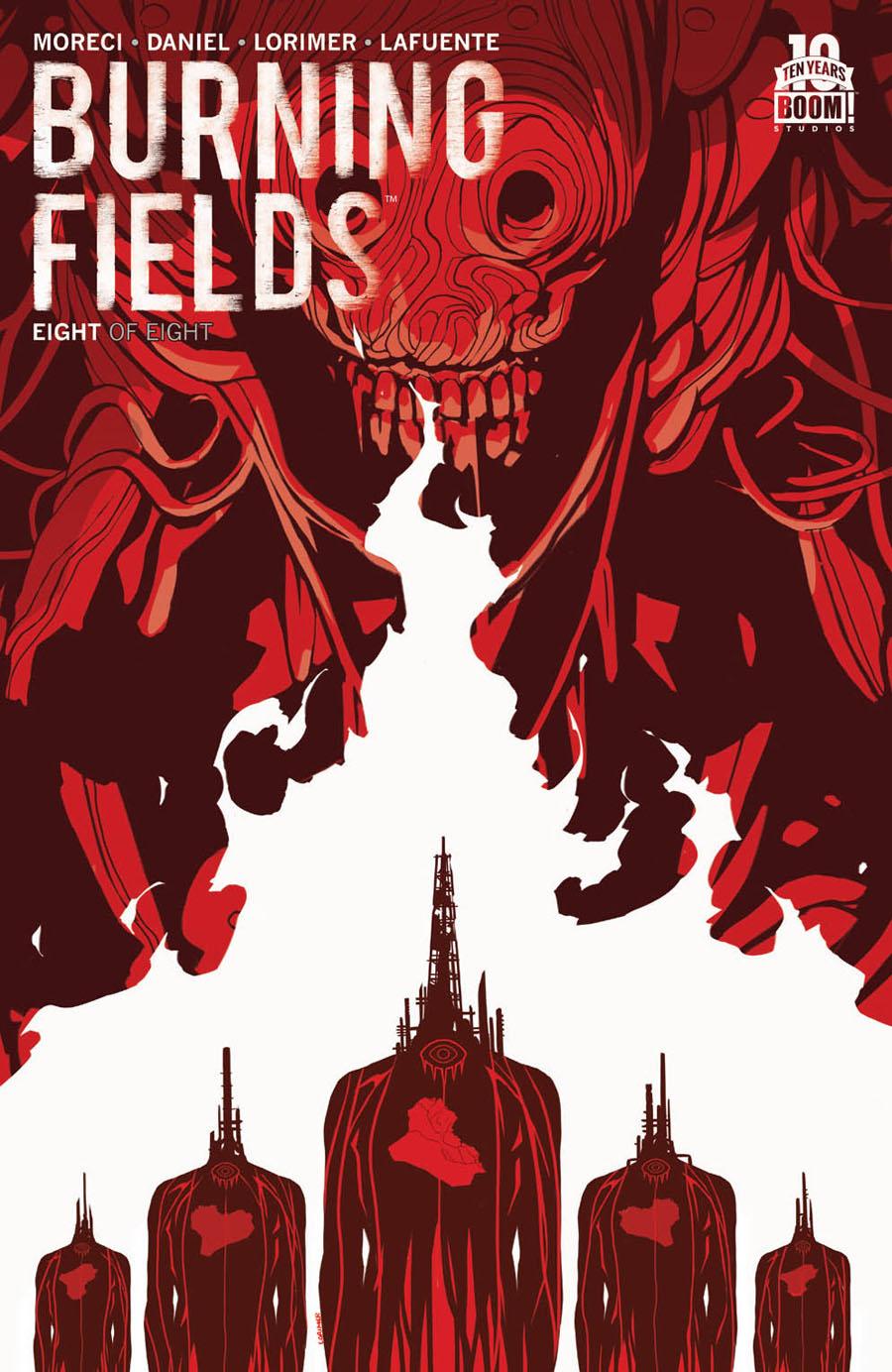 Burning Fields #8