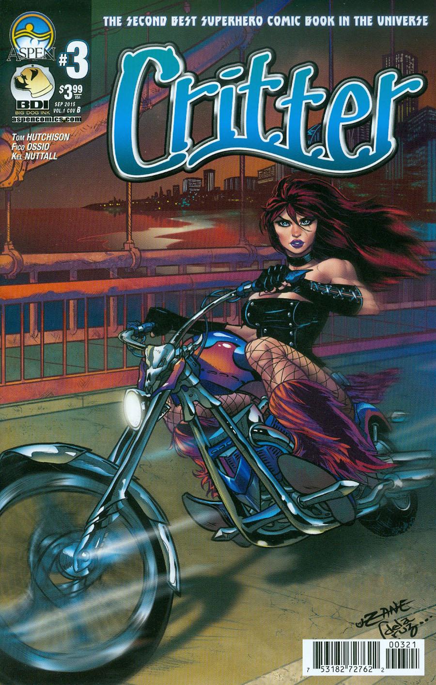 Critter Vol 3 #3 Cover B Variant Corey Zayatz Cover