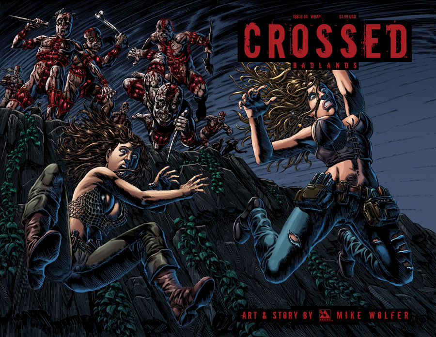 Crossed Badlands #84 Cover C Wraparound Cover