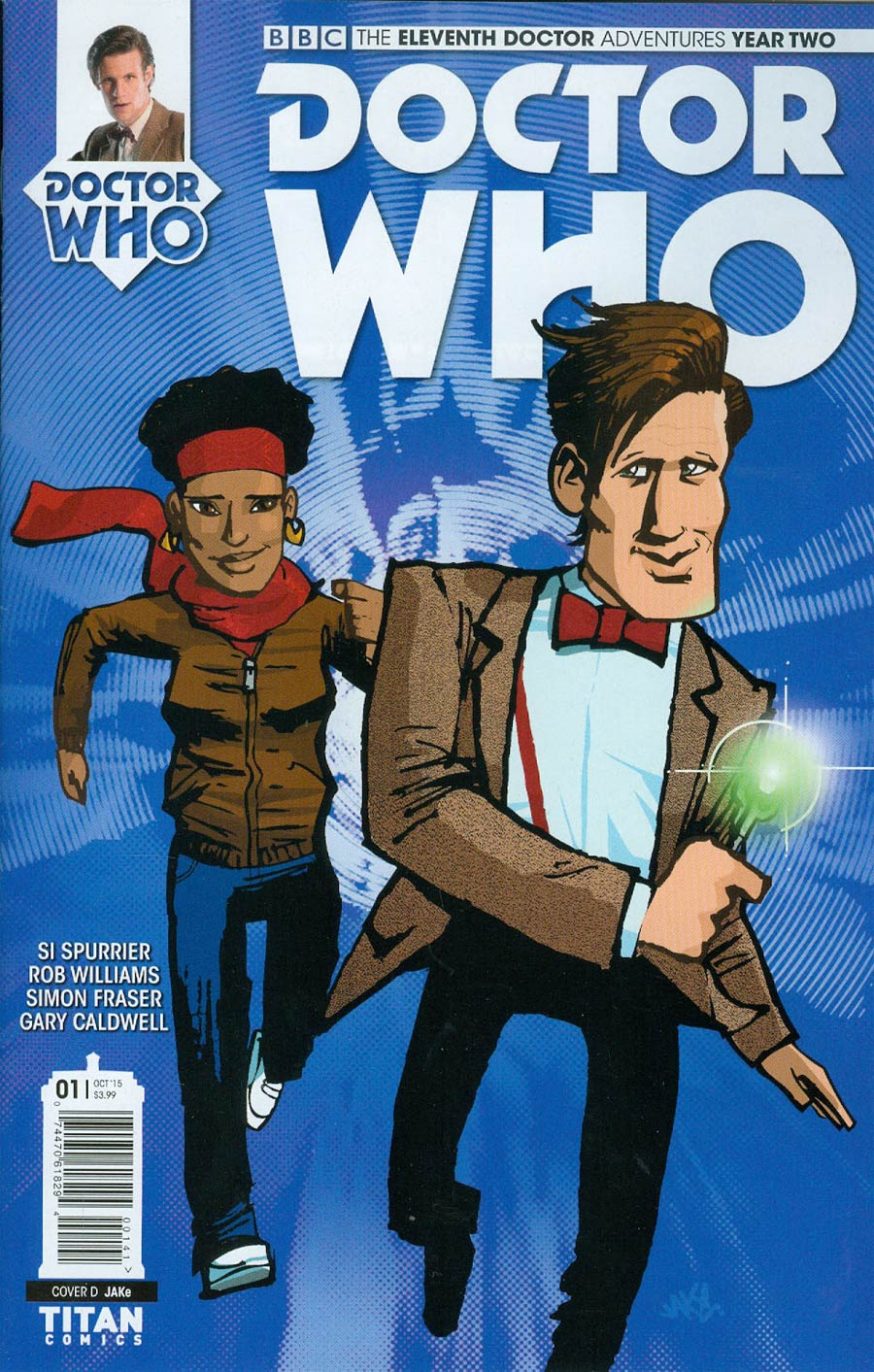 Doctor Who 11th Doctor Year Two #1 Cover C Variant Jake Cover