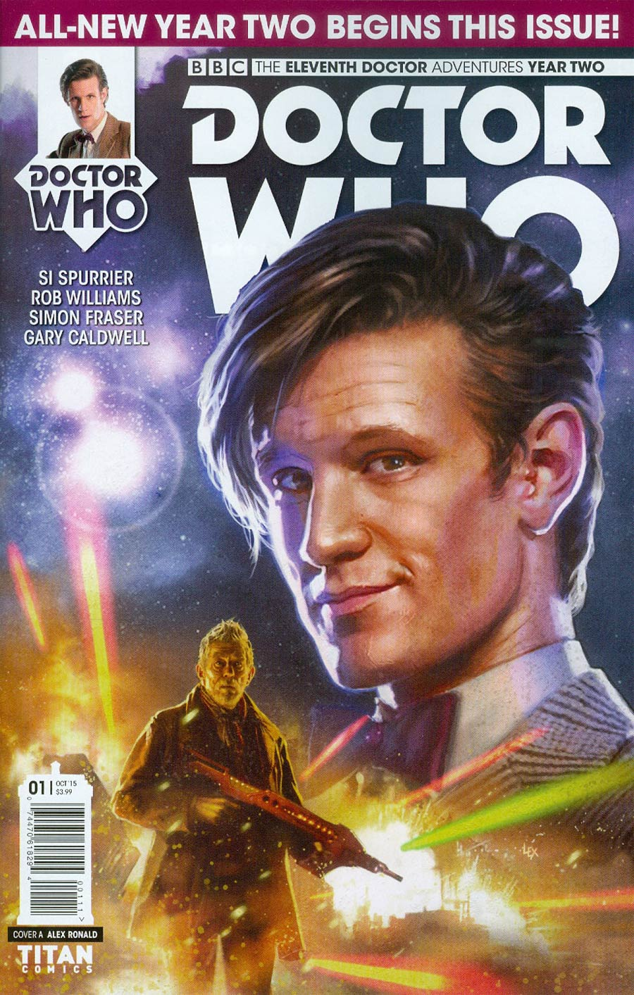Doctor Who 11th Doctor Year Two #1 Cover A Regular Alex Ronald Cover
