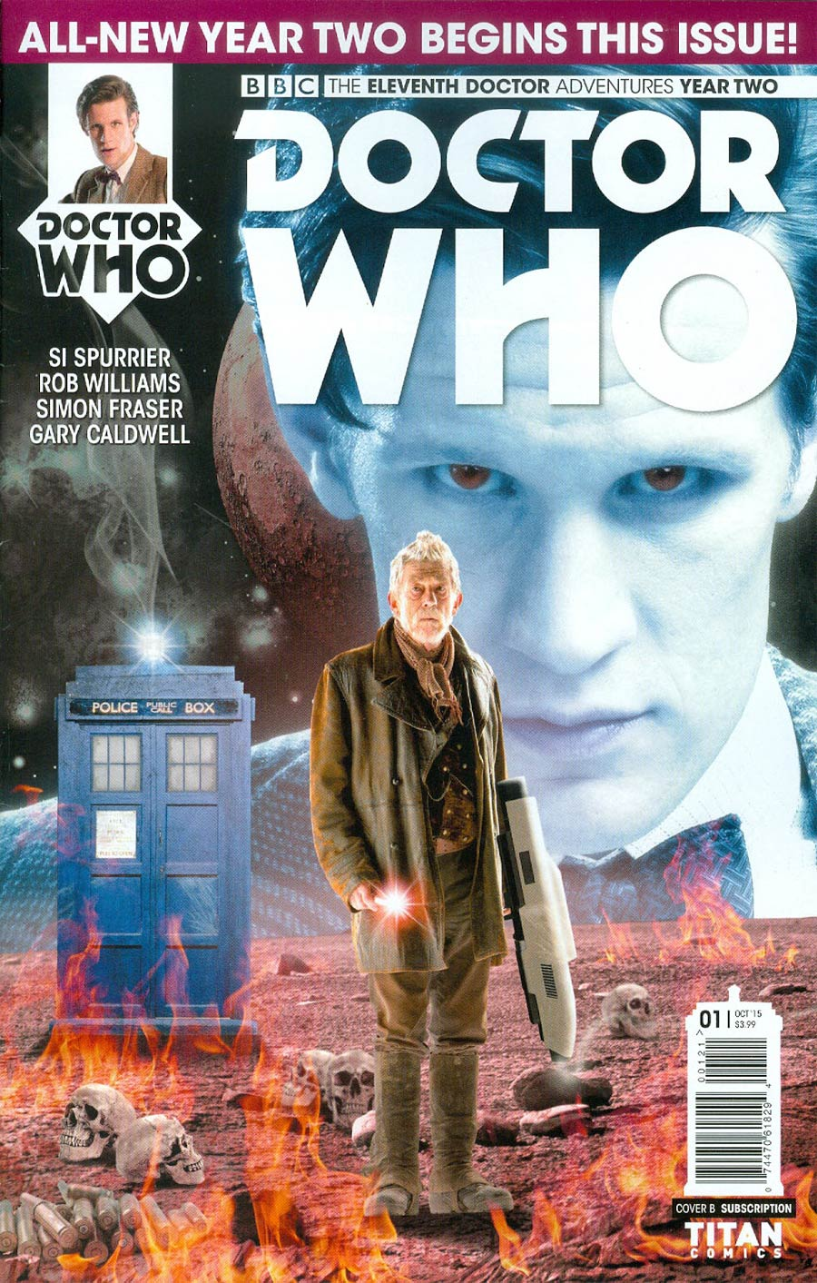 Doctor Who 11th Doctor Year Two #1 Cover B Variant Photo Subscription Cover