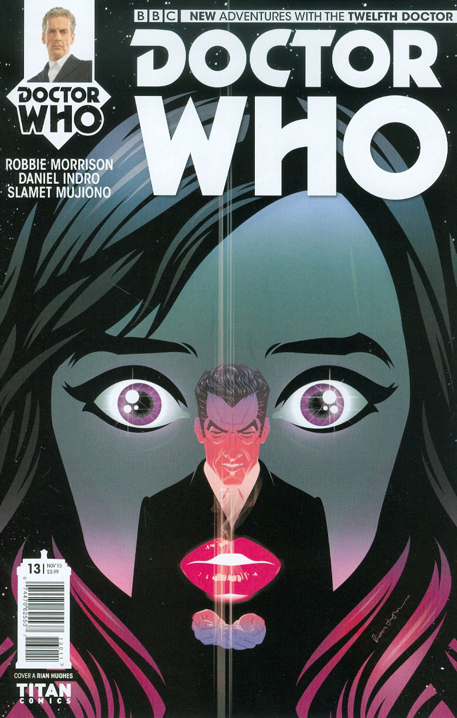 Doctor Who 12th Doctor #13 Cover A Regular Rian Hughes Cover