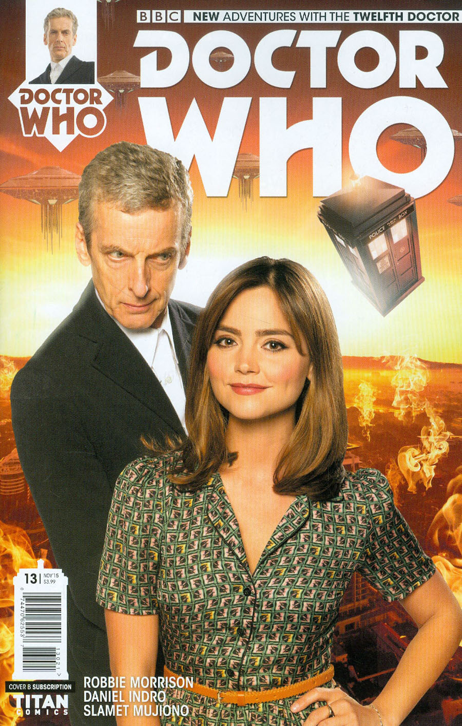 Doctor Who 12th Doctor #13 Cover B Variant Photo Subscription Cover