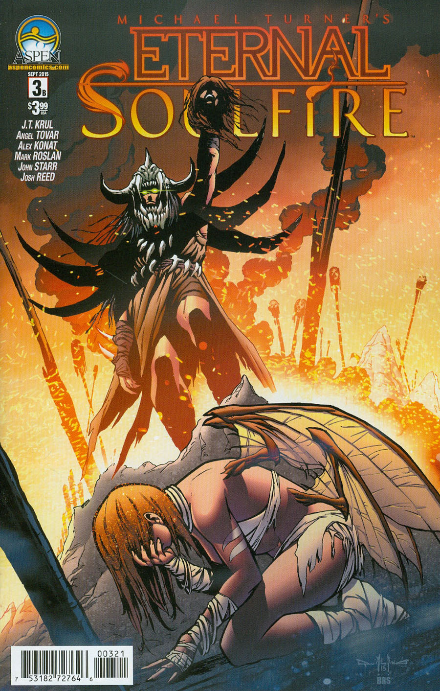 Eternal Soulfire #3 Cover B Variant Pasquale Qualano Cover