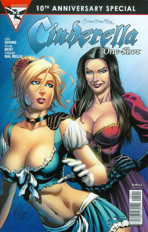 Grimm Fairy Tales Presents 10th Anniversary Special #5 Cinderella Cover A Renato Rei