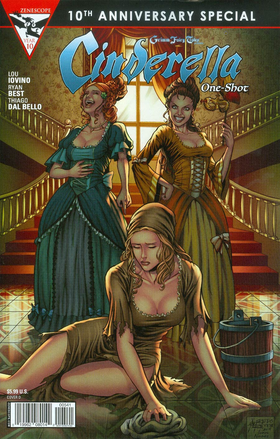 Grimm Fairy Tales Presents 10th Anniversary Special #5 Cinderella Cover D Alfredo Reyes