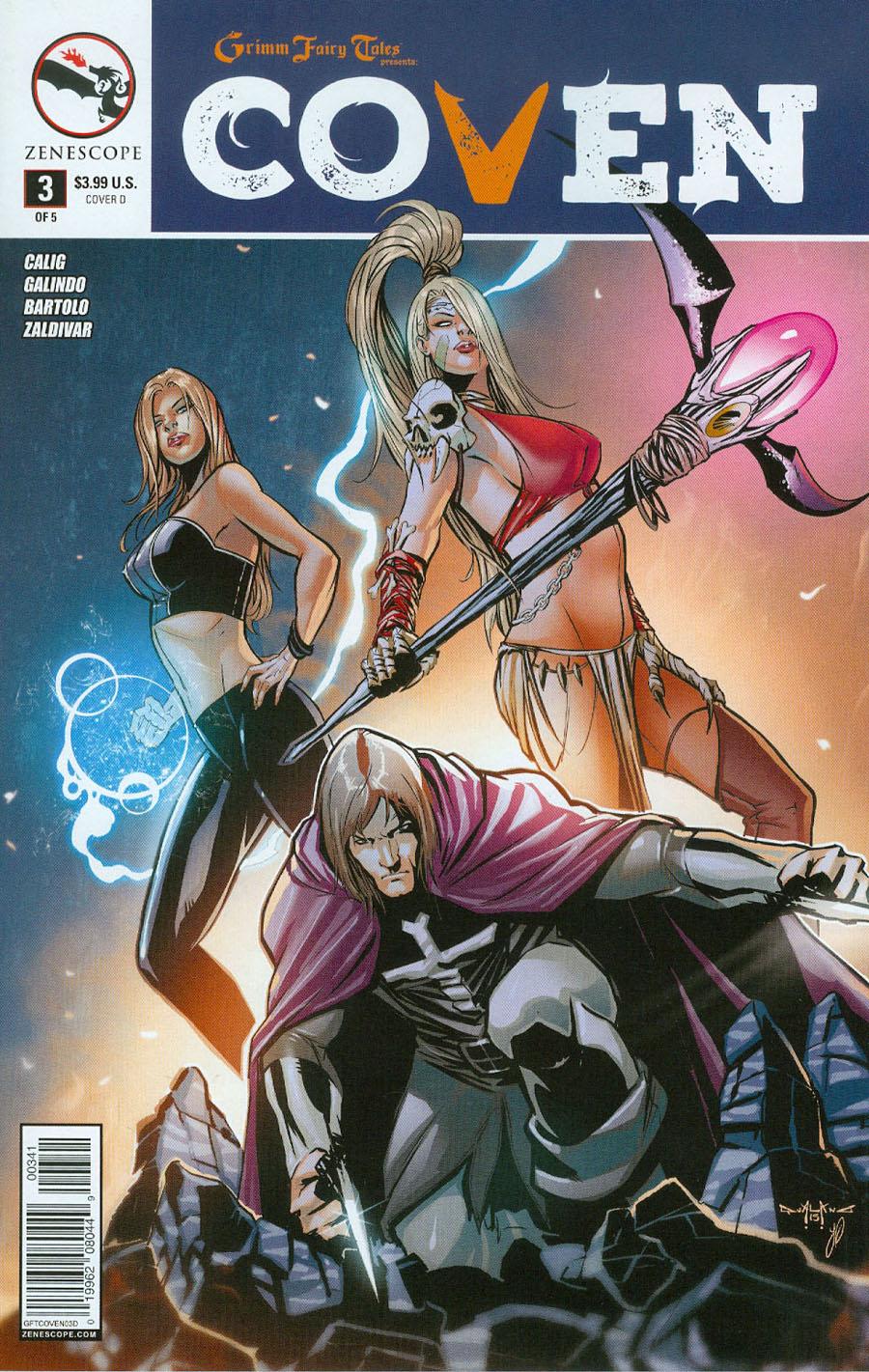 Grimm Fairy Tales Presents Coven #3 Cover D Pasquale Qualano