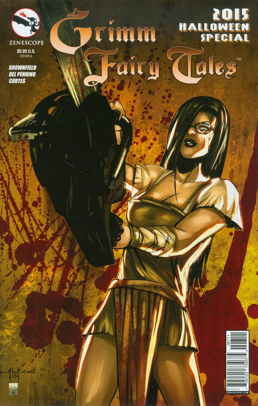 Grimm Fairy Tales Halloween Special 2015 Cover A Pasquale Qualano