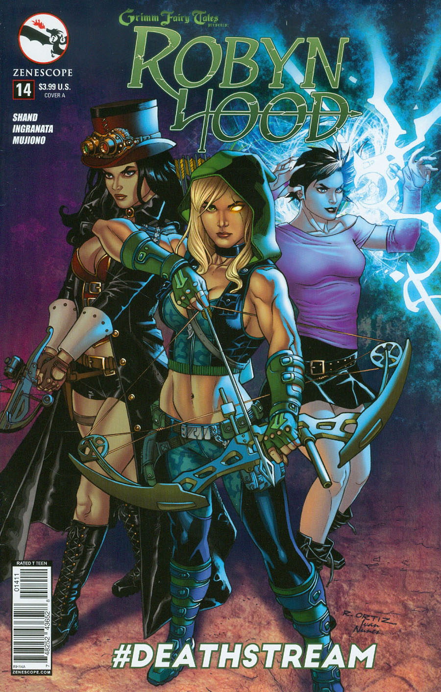 Grimm Fairy Tales Presents Robyn Hood Vol 2 #14 Cover A Richard Ortiz
