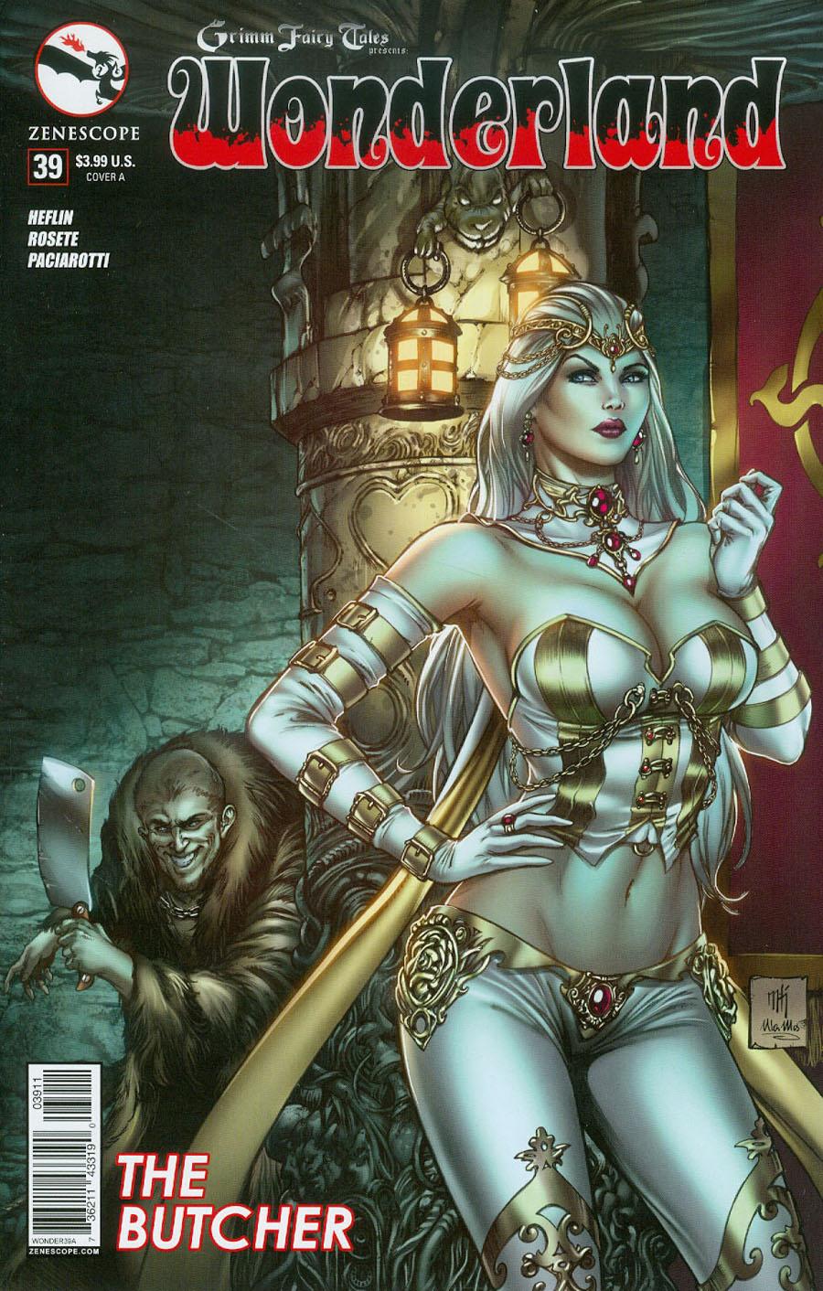 Grimm Fairy Tales Presents Wonderland Vol 2 #39 Cover A Mike Krome