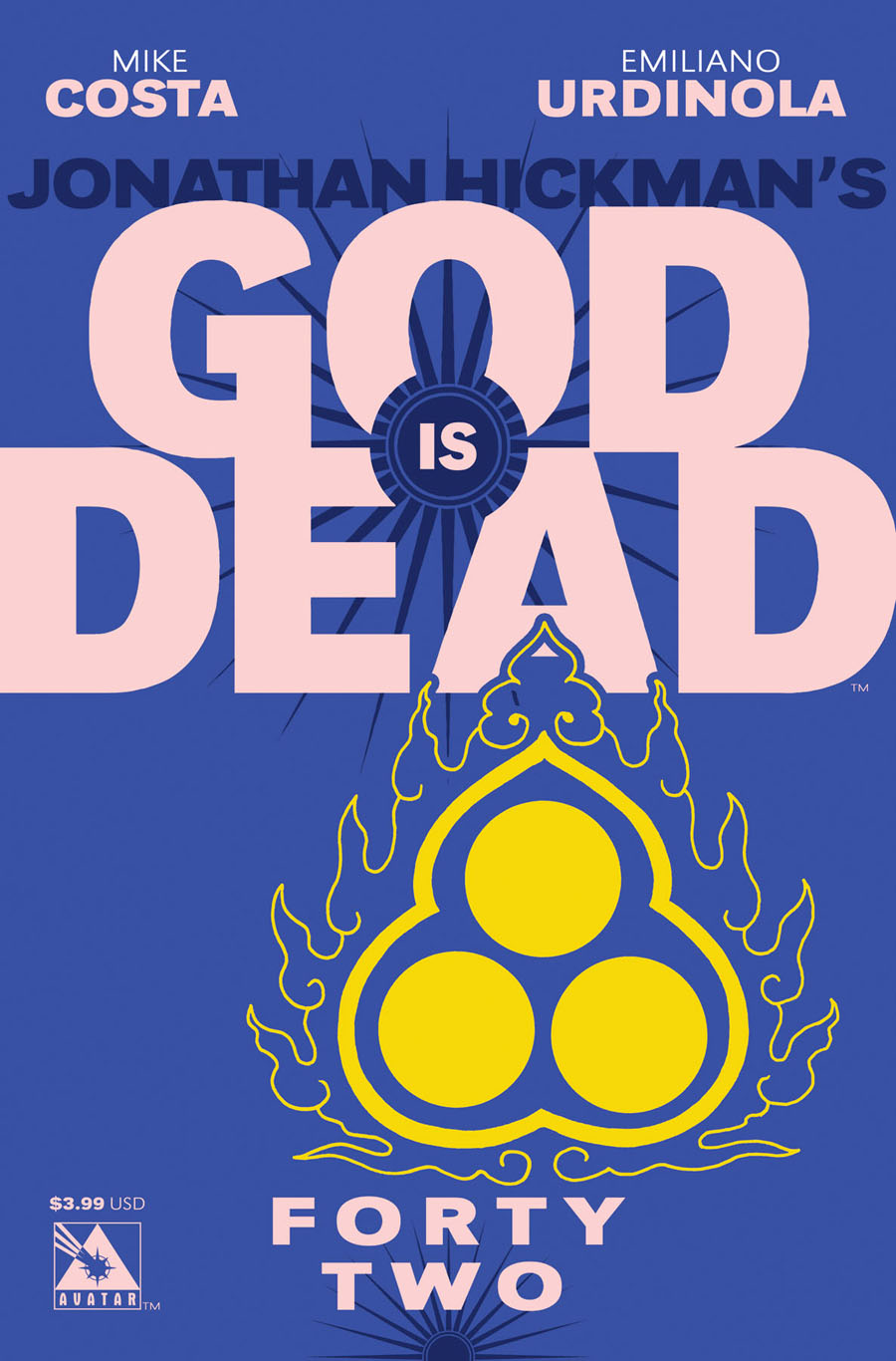 God Is Dead #42 Cover A Regular Cover