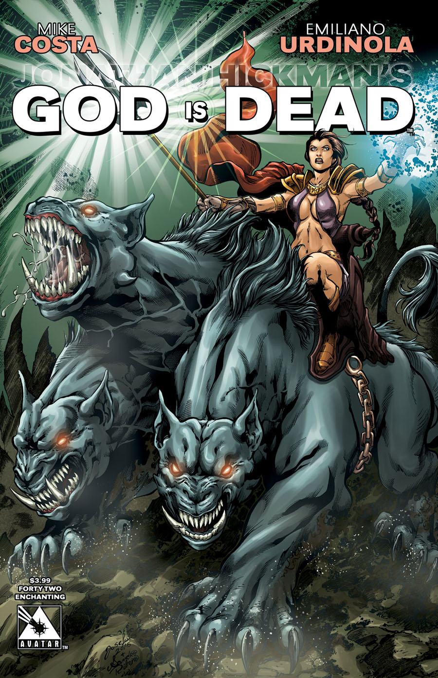 God Is Dead #42 Cover E Enchanting Cover