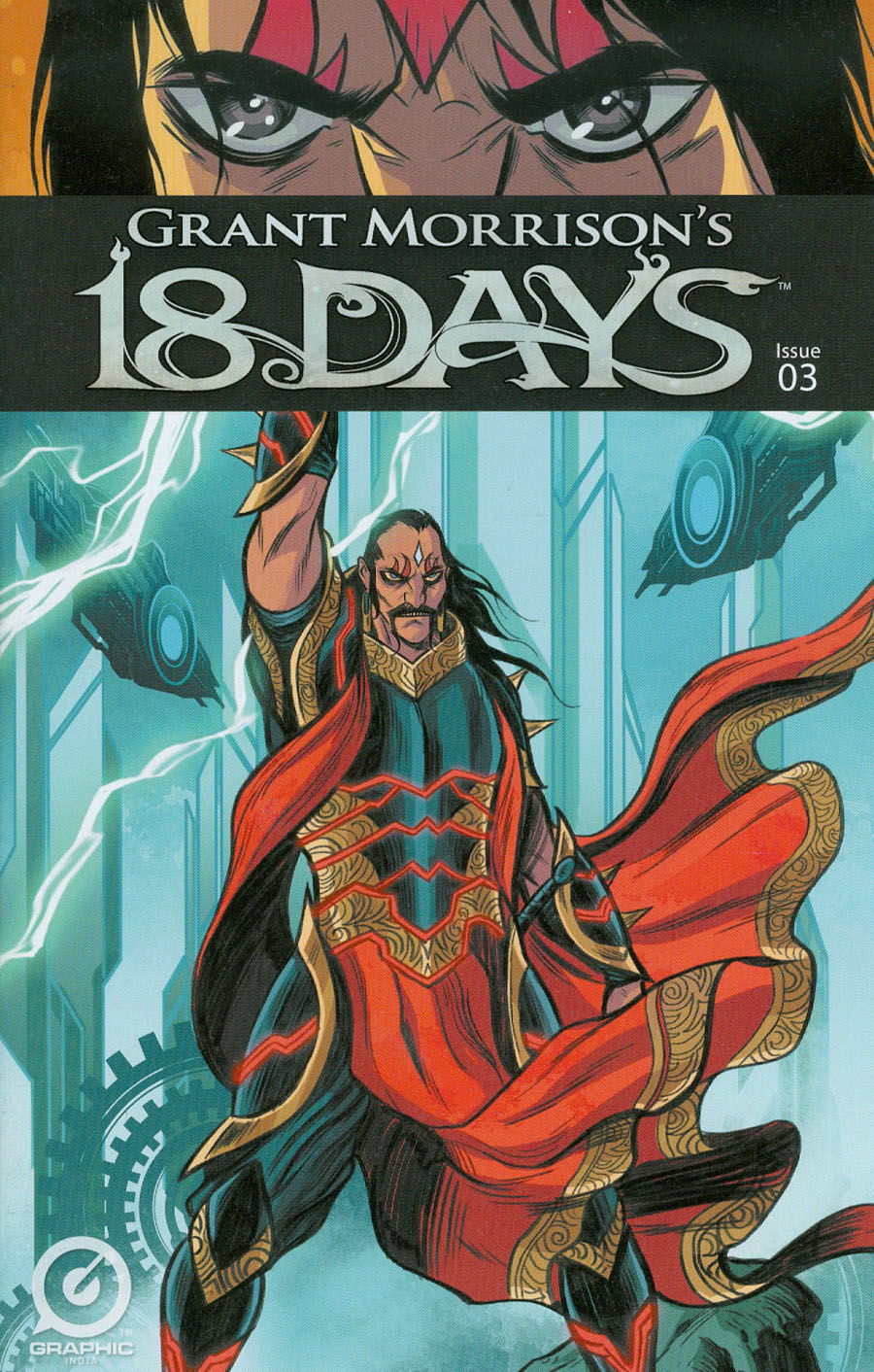 Grant Morrisons 18 Days #3 Cover A Regular Jeevan Kang Cover