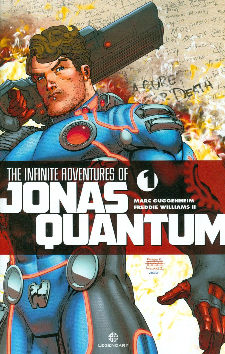 Infinite Adventures Of Jonas Quantum #1 Cover A Regular Freddie Williams II Cover