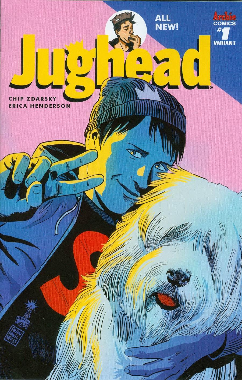 Jughead Vol 3 #1 Cover C Variant Francesco Francavilla Cover