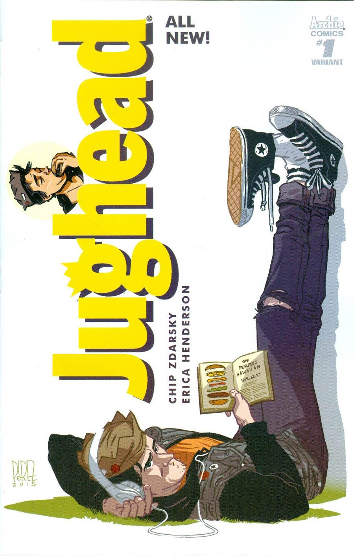 Jughead Vol 3 #1 Cover E Variant Ramon K Perez Cover