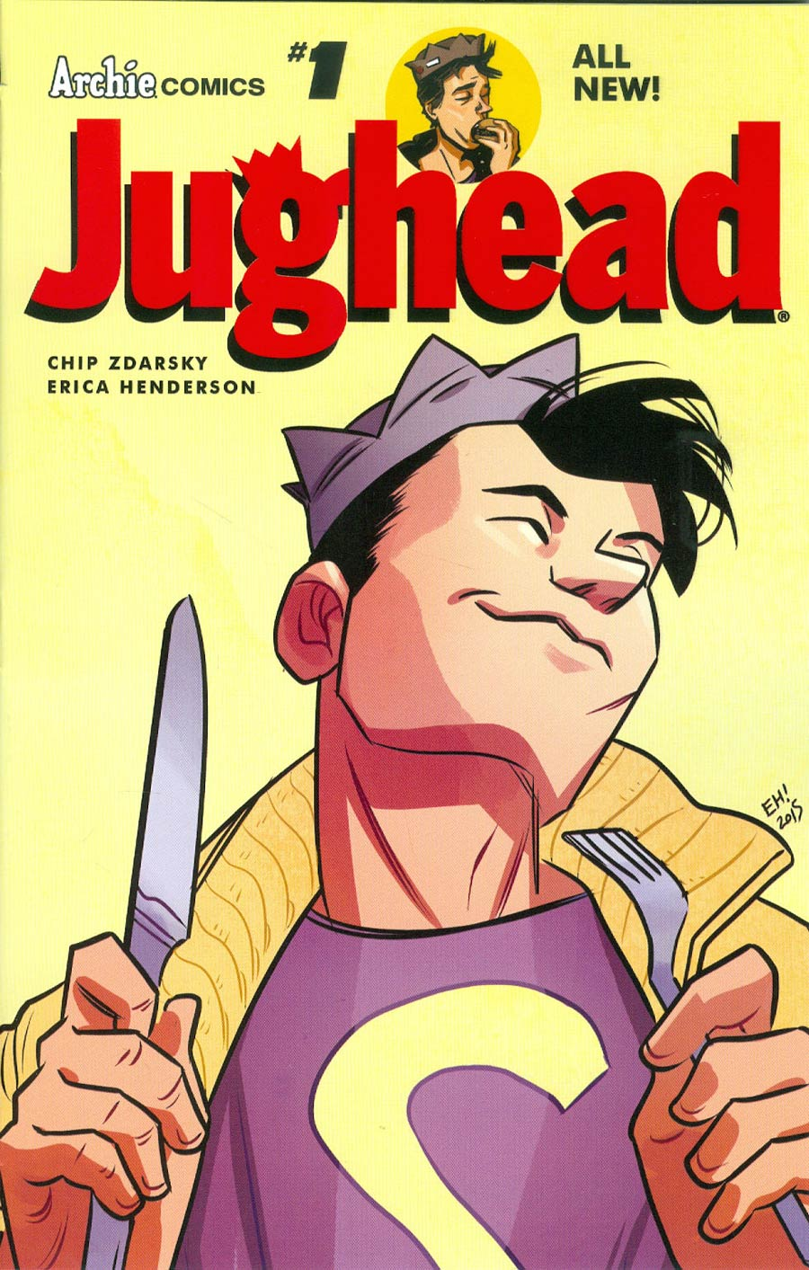 Jughead Vol 3 #1 Cover A Regular Erica Henderson Cover