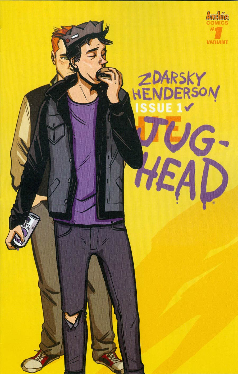 Jughead Vol 3 #1 Cover F Variant Chip Zdarsky Cover