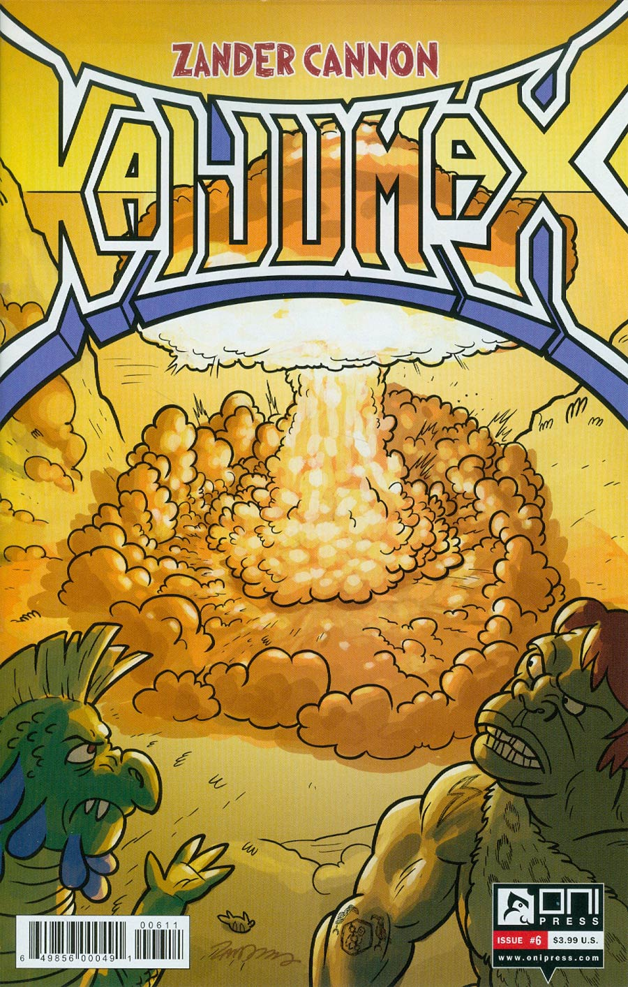 Kaijumax #6 Cover A Regular Zander Cannon Cover