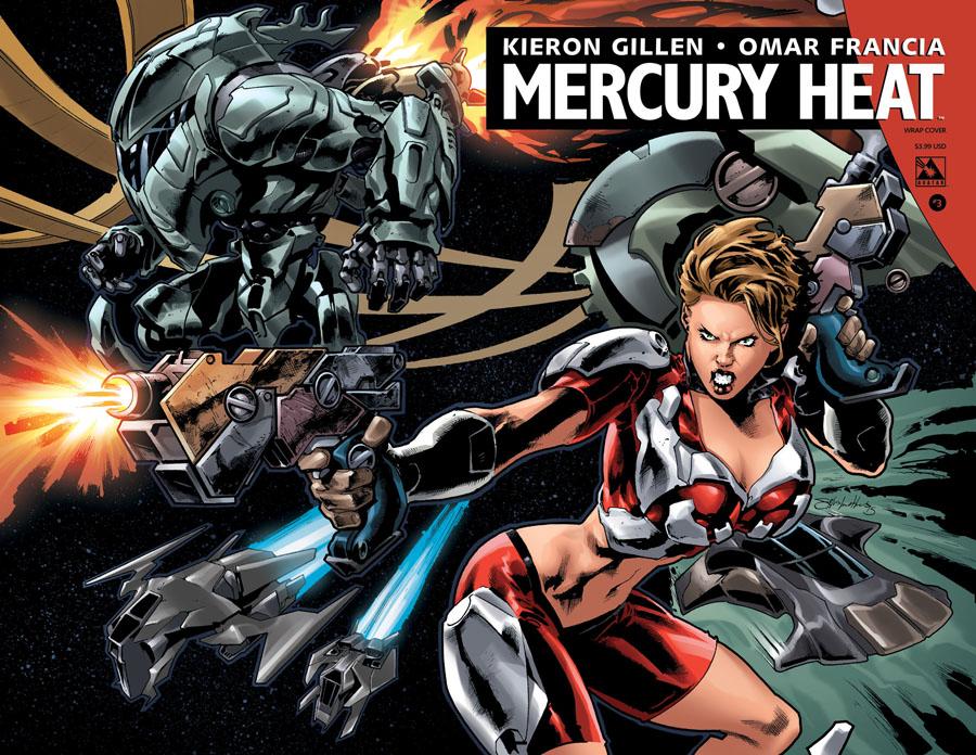 Mercury Heat #3 Cover B Wraparound Cover