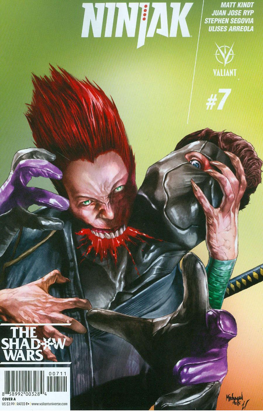 Ninjak Vol 3 #7 Cover A Regular Mico Suayan Cover