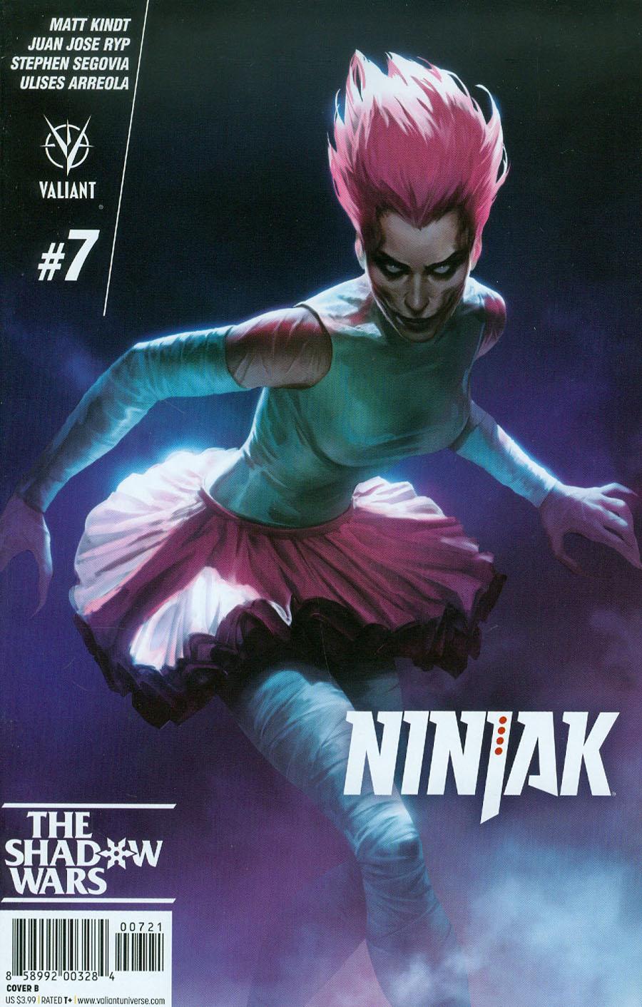 Ninjak Vol 3 #7 Cover B Variant Jelena Kevic-Djurdjevic Cover
